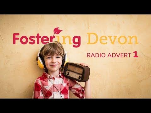 Fostering in Devon radio advert campaign