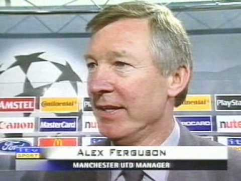 Alex Ferugson - Football, bloody hell.wmv