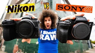 NIKON Z7 vs SONY a7R IV | Which Camera SHOULD You BUY?