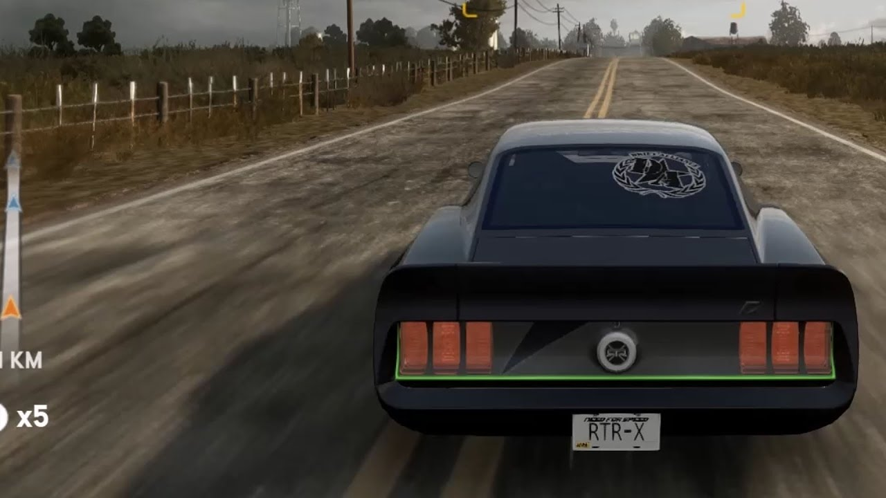 Need For Speed The Run Ford Mustang Rtr X 1969 Test Drive Gameplay Hd 1080p60fps Youtube