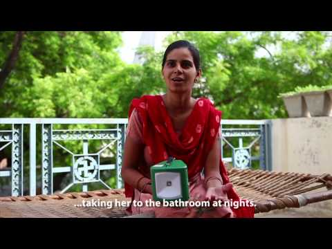 Solar Powered Lights Reaching Villages in India
