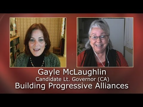 Gayle McLaughlin Discusses Building Progressive Alliances on the Progressive California Show