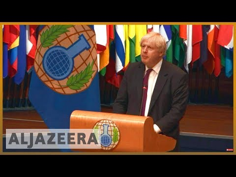 UK proposes giving OPCW power to 'name and shame' suspects | Al Jazeera English