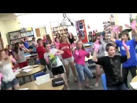 Sanford Junior High School receives 2010 Grassroots Advocate Award