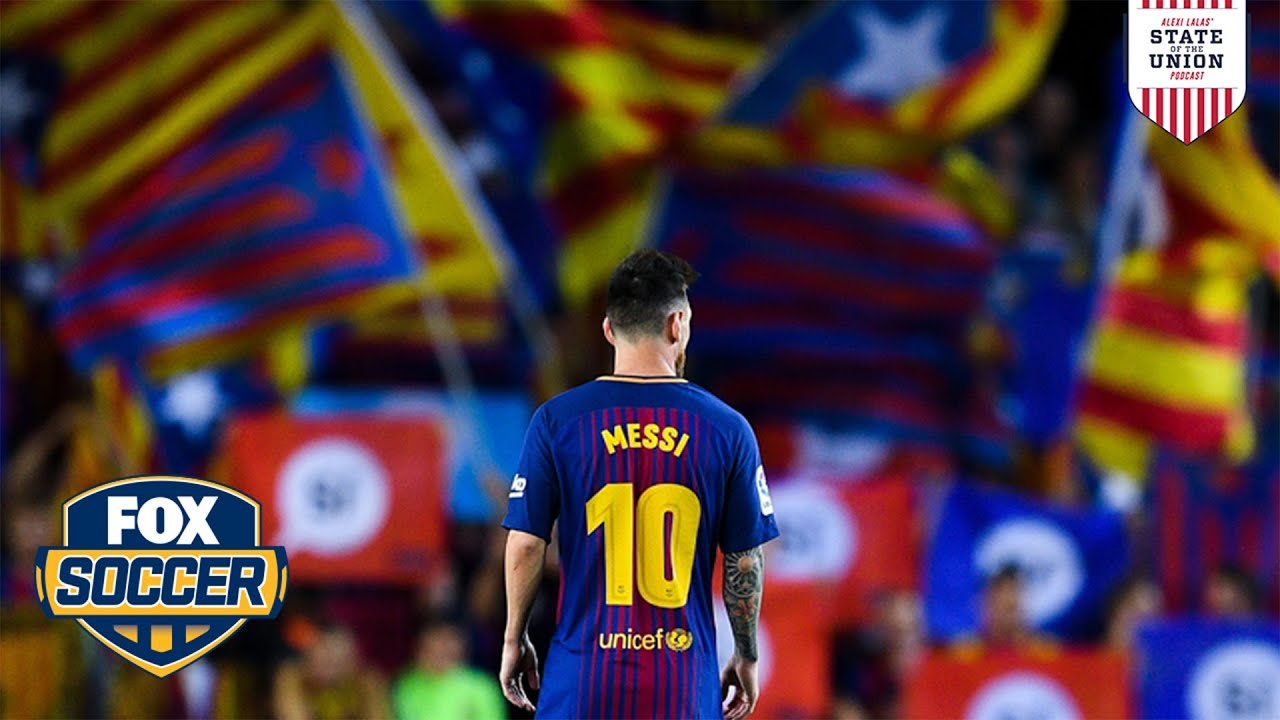 Messi stays at Barca despite team's financial woes | Alexi Lalas' State of the Union | FOX SOCCER
