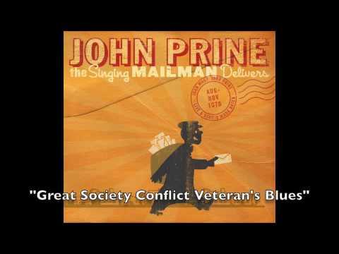 """John Prine -""""Great Society Conflict Veteran"""