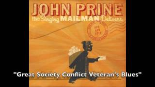 """John Prine -""""Great Society Conflict Veteran's Blues""""- The Singing Mailman Delivers"""