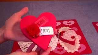Valentine Heart Shaped Box Kits