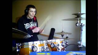 Breaking Benjamin - Polyamorous (Drum Cover by Alan Martin)