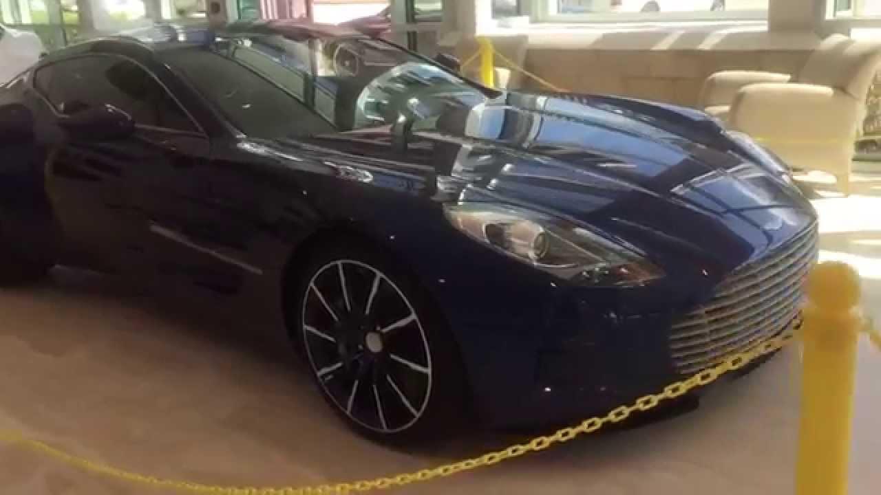 Aston Martin One St Pete Fl YouTube - Aston martin florida