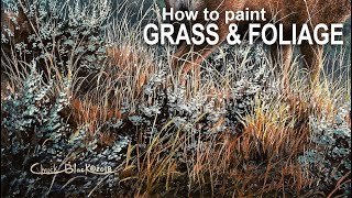 My Favorite Way to Paint GRASS & FOLIAGE
