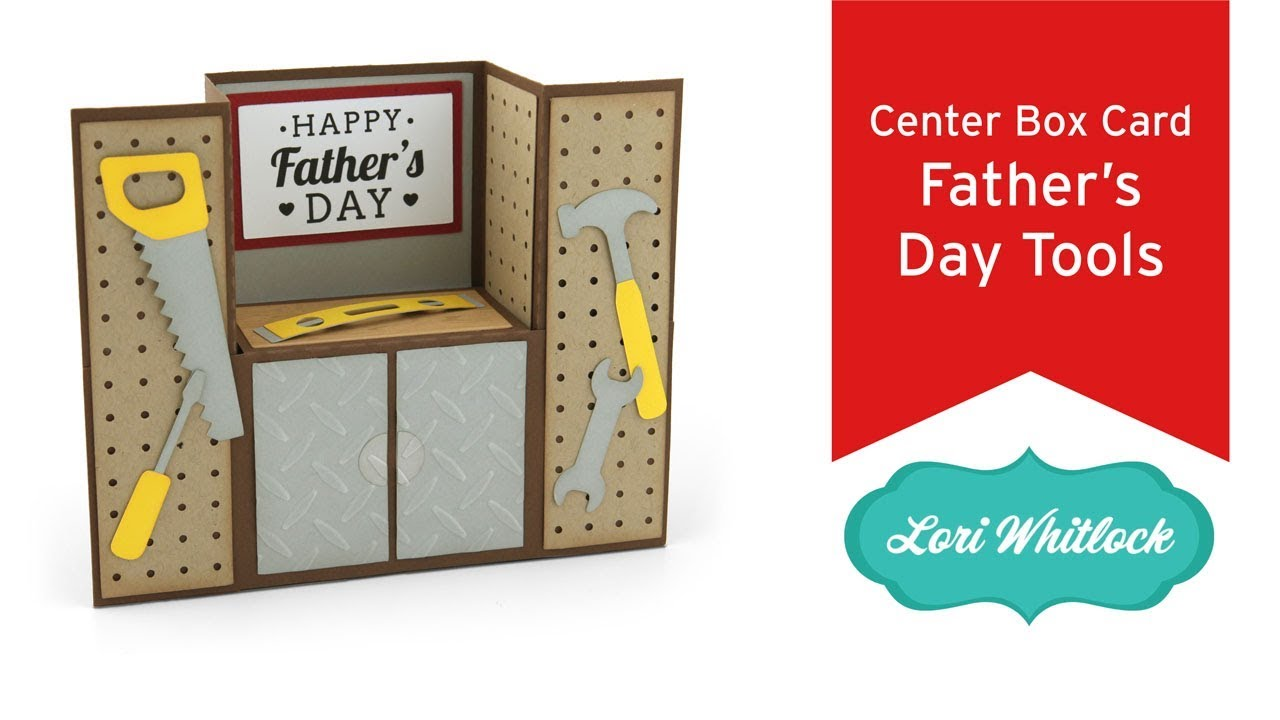 Free #1 father's day card svg. Center Box Card Father S Day Tools Youtube SVG, PNG, EPS, DXF File