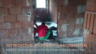 Strojove potery, betónové potery - Jakubašek - strojové betónové potery
