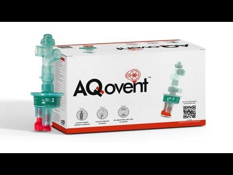 Unboxing AQovent - mechanical resuscitator by Aequs