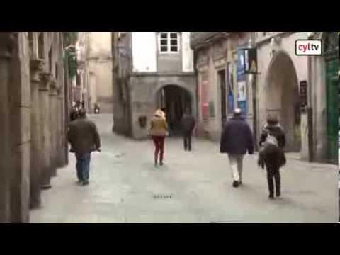 CASTILLA Y LEÓN POR ESPAÑA. Santiago de Compostela (20/01/2014)