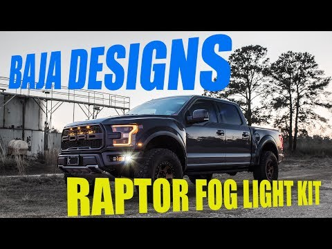 Baja Designs Ford Raptor Fog Light Kits