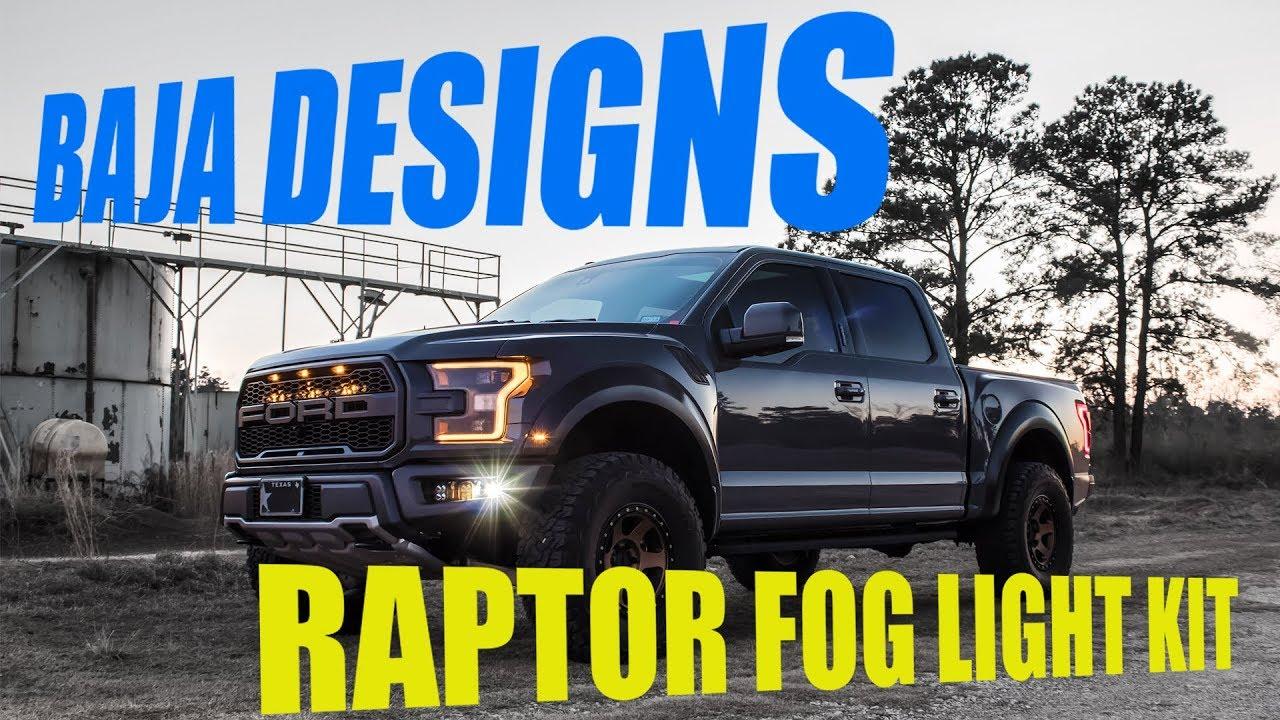 Baja Designs Ford Raptor Fog Light Kits Youtube Wiring Instructions