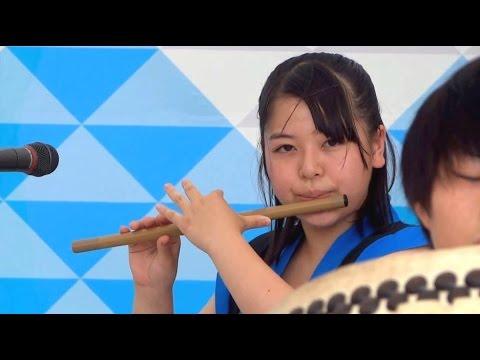 日生学園第二高校 和太鼓部 -  第5回全国高校生太鼓甲子園 富士山太鼓まつり