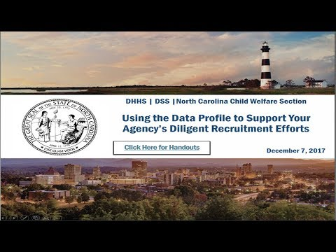 Using the Data Profile to Support Your Agency's Diligent Recruitment Efforts