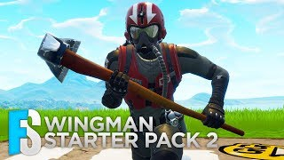 "Fortnite Skin - Wingman ""Starter Pack 2"" Showcase (Fortnite: Battle Royale) #8"