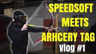Speedsoft meets Archery Tag! | Matt Charles Vlog #1 | Winter Expo 2018