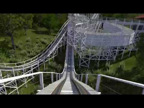 Sea Breeze Wild Cat recreation - NoLimits 2