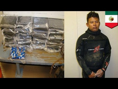 Mexico drug smuggling: underwater tunnel used to bring cocaine from Mexico to US - TomoNews