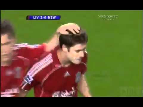xabi Alonso 70 Yard amazing goal