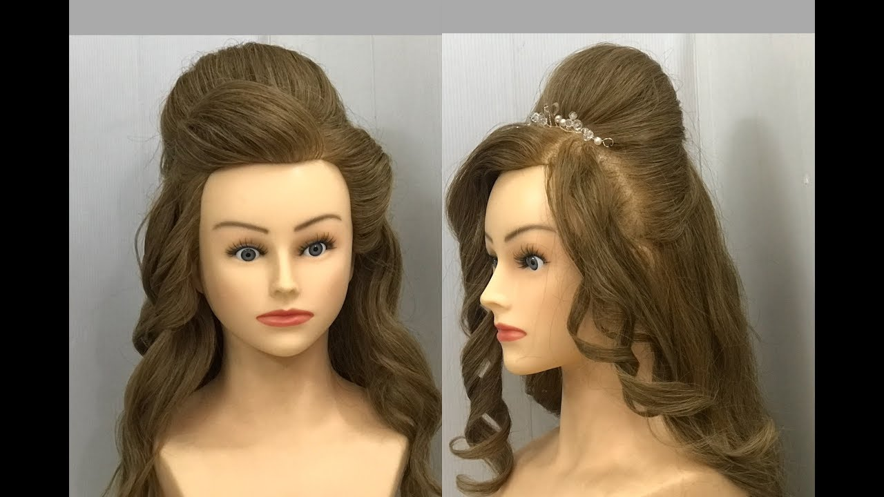 2 puff hairstyles for party or function : easy hairstyles