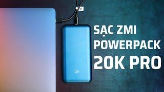 Trên tay pin dự phòng ZMI PowerPack 20K Pro 65W sạc nhanh cho iPhone hay Mac, siêu nhanh cho Samsung