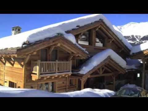 Big Luxury Chalet for Rent - La Ferme de la Delege - Crans-M