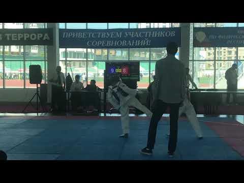 Первенство Дагестана юноши (2005-2007г) Рабаданов Магомед & Абдуллаев Курбан 33 кг.