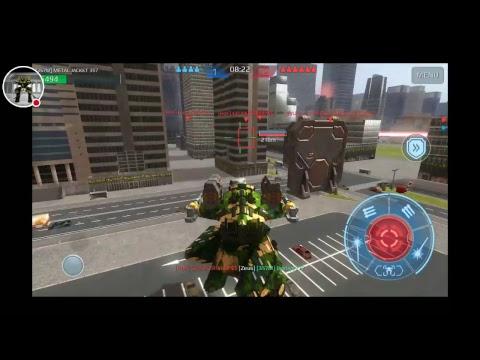 War Robots RHINO SQUAD GUST + STORM