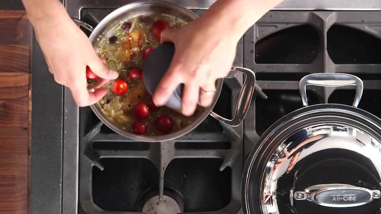 a778f93be039 All-Clad D7 Stainless Steel Cookware - YouTube