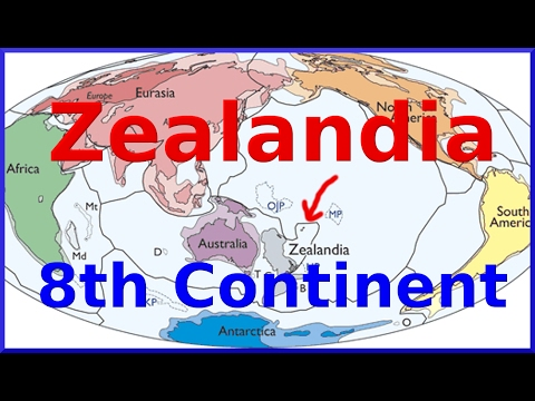 Zealandia -  Scientists confirm Eighth Continent submerged under New Zealand