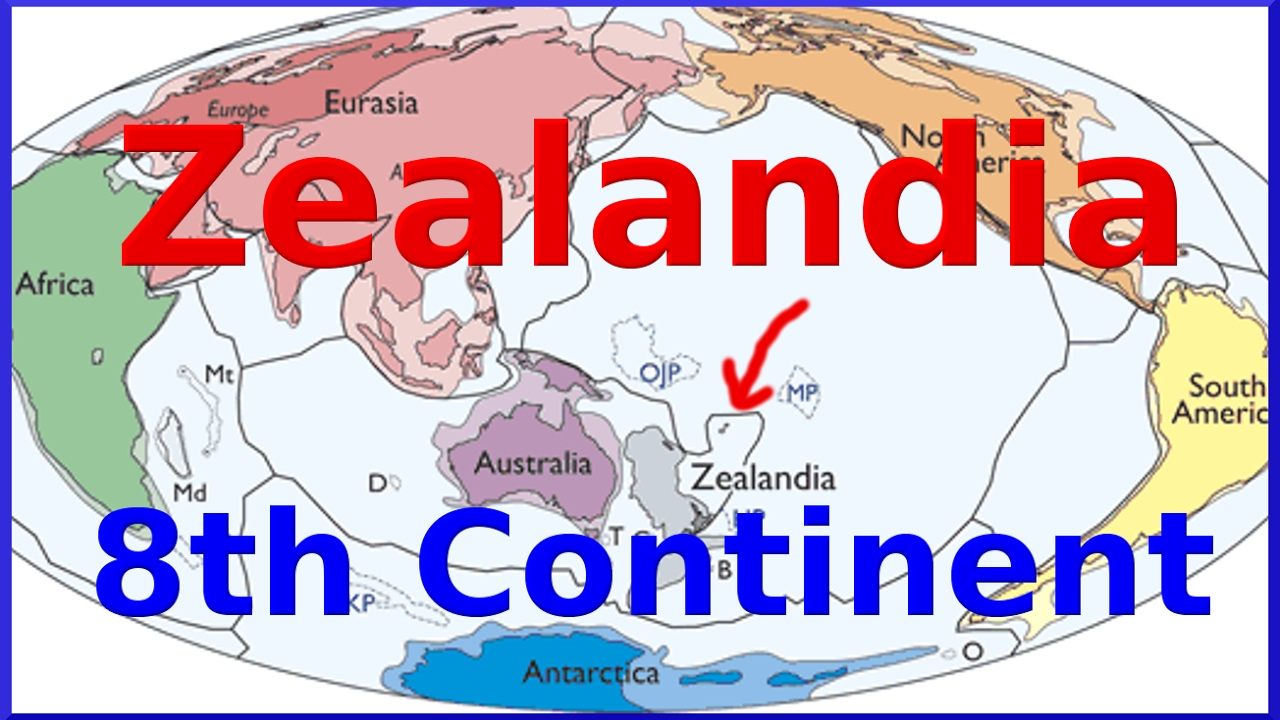 Zealandia Scientists confirm Eighth Continent submerged under