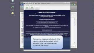 How to lock pages of your ebook in evaluation mode - HTML Executable