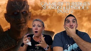 Game of Thrones Season 8 Episode 3 'The Long Night' Part 2 REACTION!!