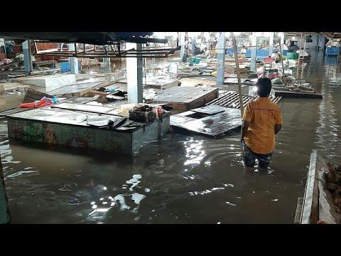 Baru Kali Ini // Pasar Sumberayu Kebanjiran// Pedagang Kalang Kabut