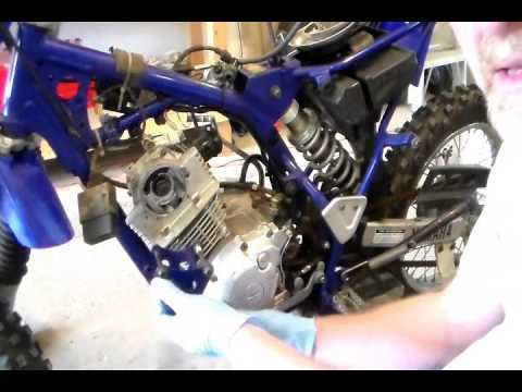 how to rebuild top end for yamaha ttr 125 part i youtube rh youtube com 125Cc Dirt Bikes 125Cc 2 Stroke Engine