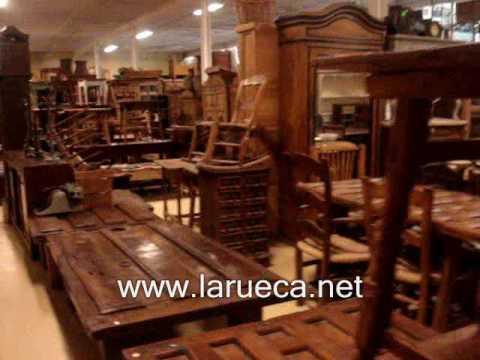 Muebles y antiguedades La Rueca paseo parte 1 - YouTube