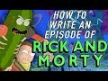 How an episode of Rick and Morty is Written - Dan Harmons Story Circle