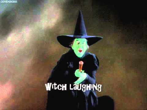 Witch Laughing (Sound Effect)
