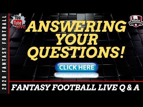 Fantasy Football 2020 - Fantasy Football Draft Advice