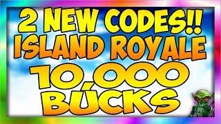 *2* NEW CODES Island Royale $10,000$ BUCKS (Roblox) (Easter Update)