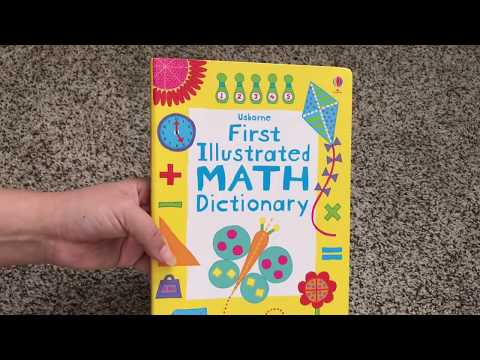 First Illustrated Math Dictionary 👦 Usborne Books & More