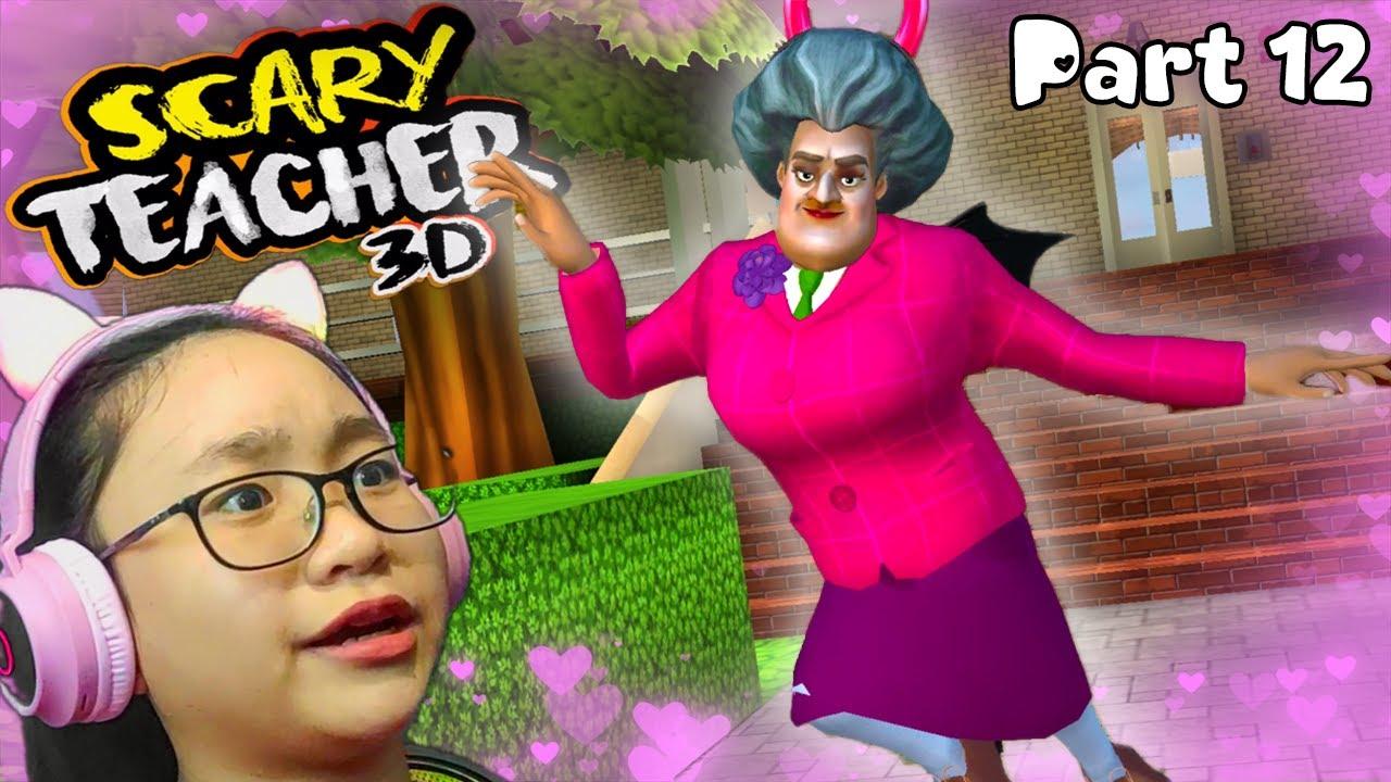 Download Scary Teacher 3D Stupid Cupid - Gameplay Walkthrough Part 12 - Let's Play Scary Teacher 3D!!