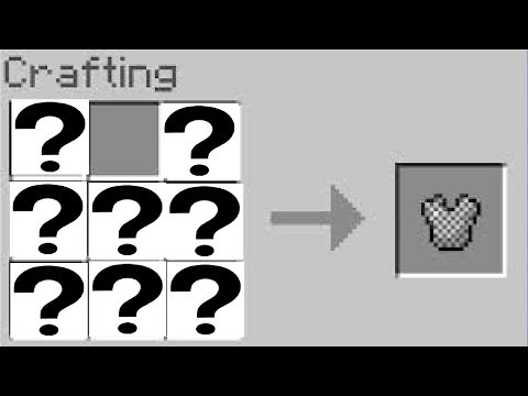 How To Craft Chain Armor In Minecraft