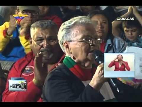 En Contacto Con Maduro #51, parte 5/17, Consejo Presidencial Adulto Mayor, María Elena Pulido