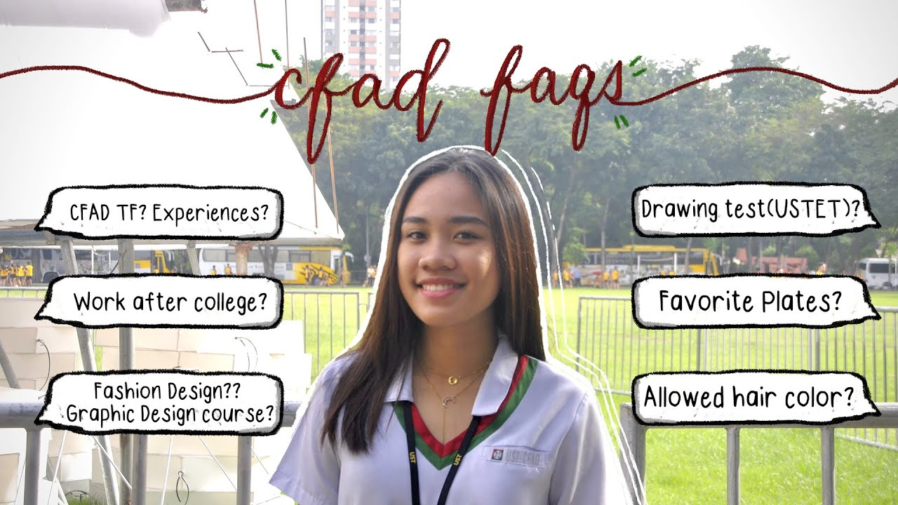 Life In Ust Cfad College Q A Fine Arts Philippines Youtube